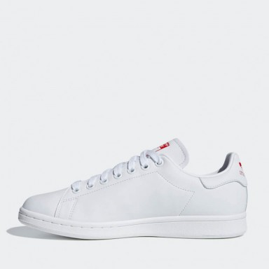 sports shoes 0508d 76999 Adidas Stan Smith W - Ftwr White  Active Red  Ftwr White
