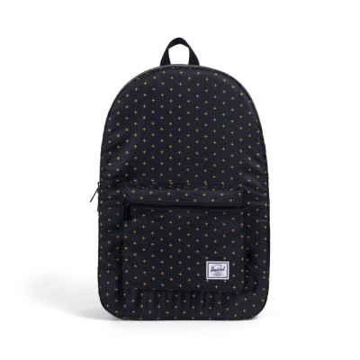 herschel-supply-co-packable-daypack-black-gridlock-gold
