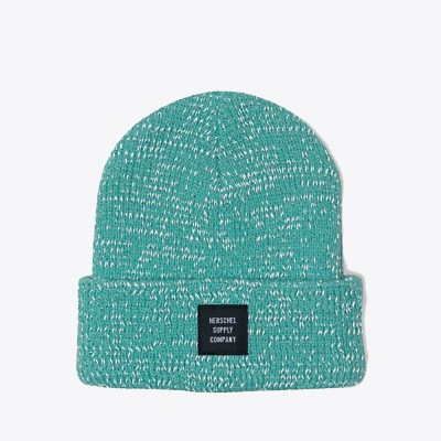 herschel-supply-co-abbott-youth-beanie-lucite-green-reflective