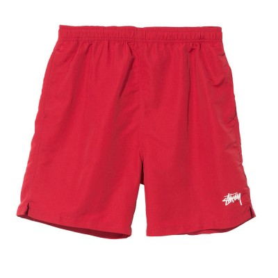 stussy-stock-water-short-red
