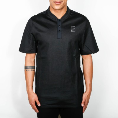 nike-court-polo-black-white, 59.95 EUR @ stickabush-de