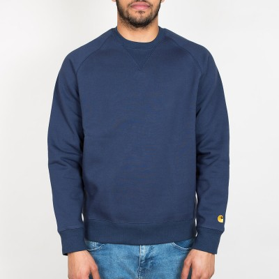 carhartt-wip-chase-sweat-blue-gold