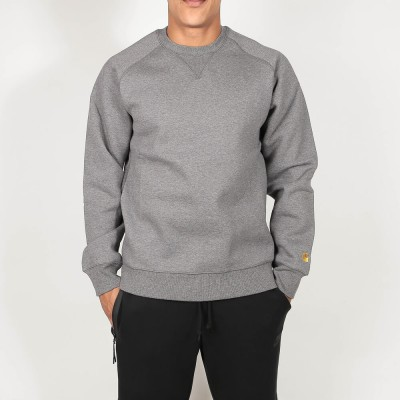 carhartt-wip-chase-sweat-dark-grey-heather-gold