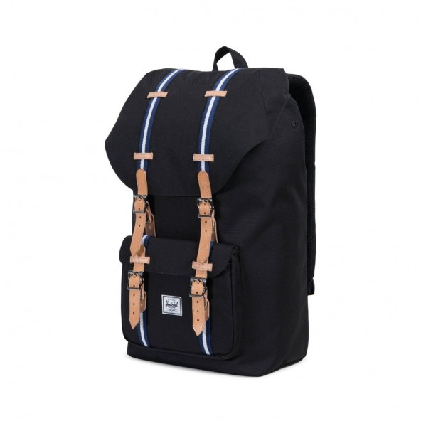 Herschel Supply Co. Little America Backpack Black / Blue-01
