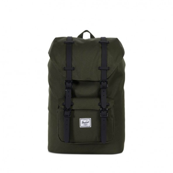 Herschel Supply Co. Little America Mid Backpack Forest Night-01
