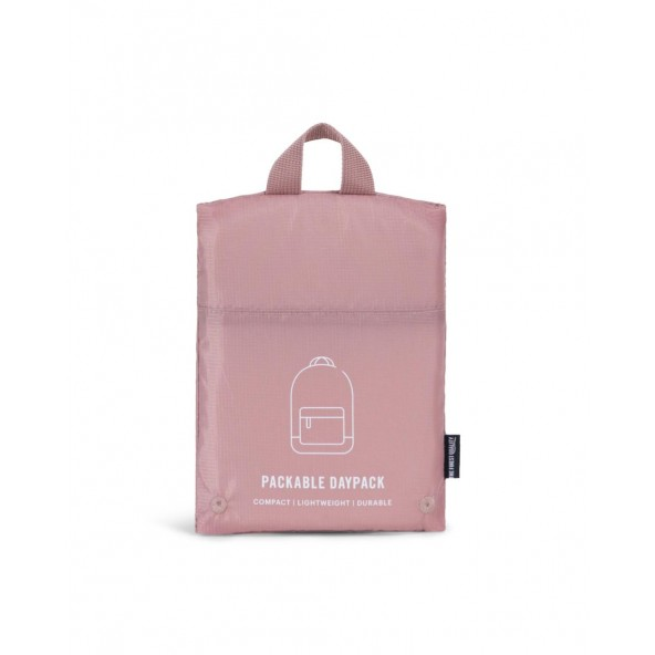 Herschel Supply Co. Packable Daypack Ash Rose-01