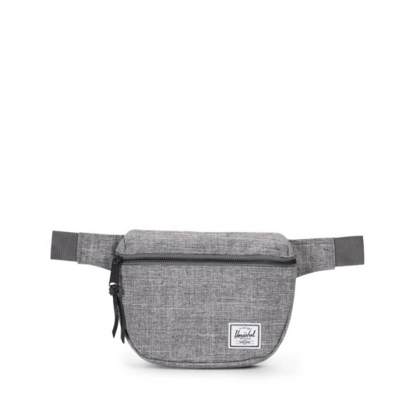 Herschel Supply Co. Fifteen Hip Pack Raven Crosshatch-01