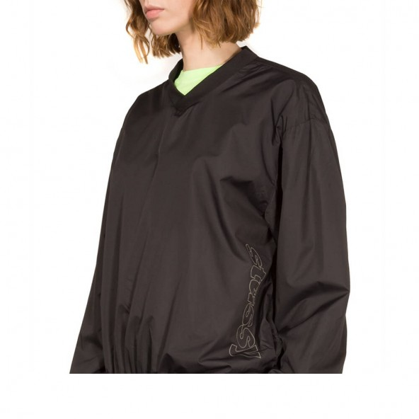Stussy Womens Ellis Windstopper Black-02