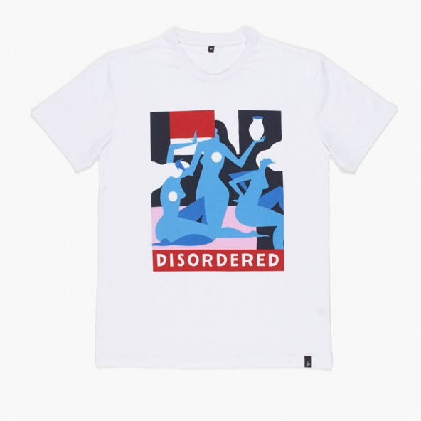 By Parra T-Shirt Disordered White-01