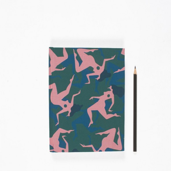By Parra A5 Note Book Musical Chairs Green-01