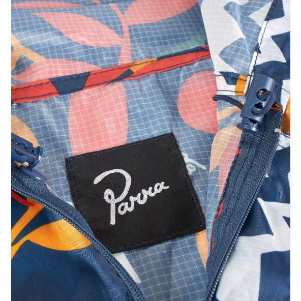 By Parra Rain Poncho Still Life With Plants Multi Color-01