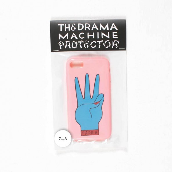 By Parra Iphone Case third prize 7 or 8 Pink Blue-01