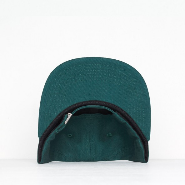 By Parra 6 Panel Hat Upside Down Bird Mallard Green-01