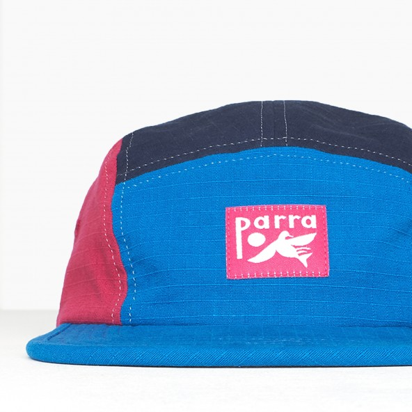 By Parra 5 Panel Volley Hat Bird Doging Multi-01