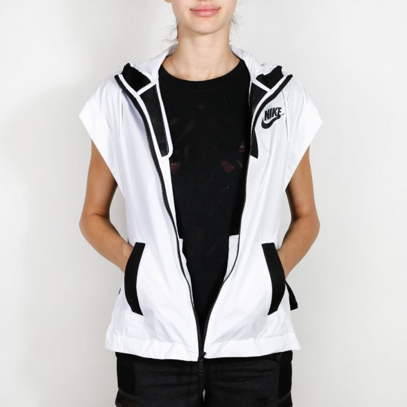 Nike Wmns Tech Hypermesh Vest White / Black Black-01