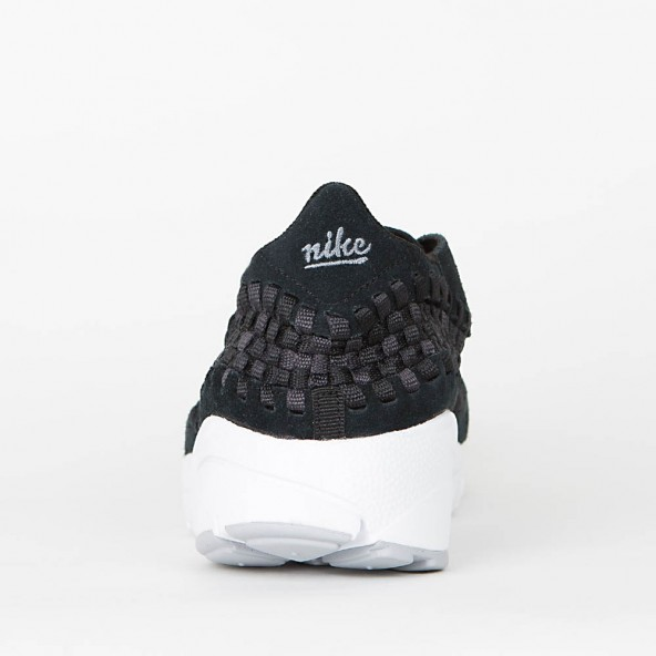 Nike Air Footscape Woven NM Black / Dark Grey Wolf Grey White-01
