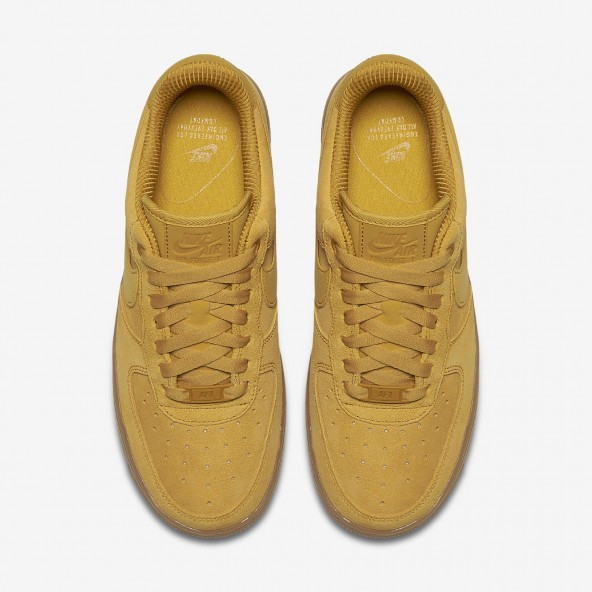 Nike Wmns Air Force 1 07 SE Mineral Yellow / Mineral Yellow-01