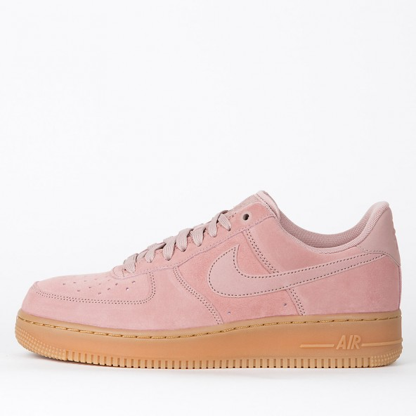 Nike Air Force 1 07 LV8 Suede Particle Pink / Particle Pink-01