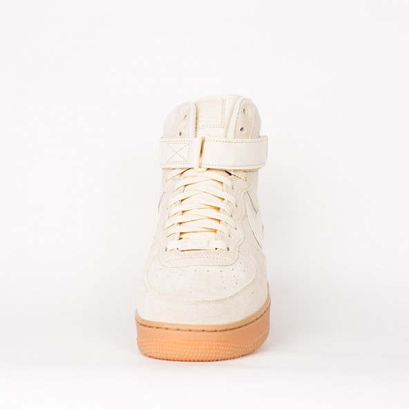Nike Air Force 1 High 07 LV8 Suede Muslin / Muslin Gum Med Brown Ivory-01