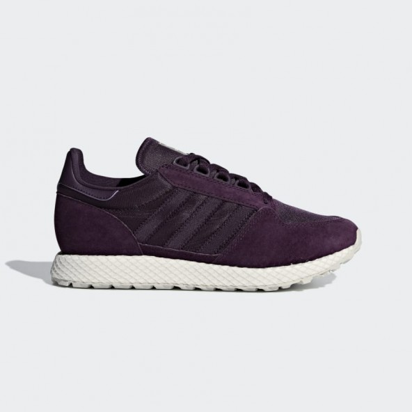 Adidas Forest Grove W Red Night / Cloud White / Grey One-01