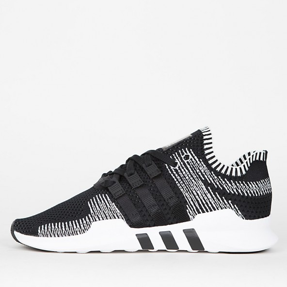 Adidas Equipment Support ADV Primeknit Core Black / Core Black / Footwear White-01