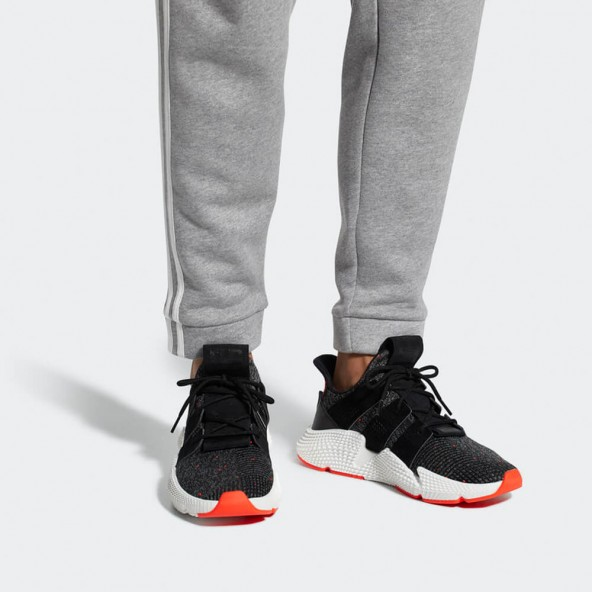 Adidas Prophere Core Black / Core Black / Solar Red-01