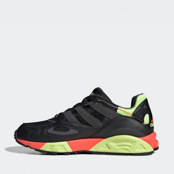 Adidas Lxcon 94 Core Black / Grey Six / Solar Red-01