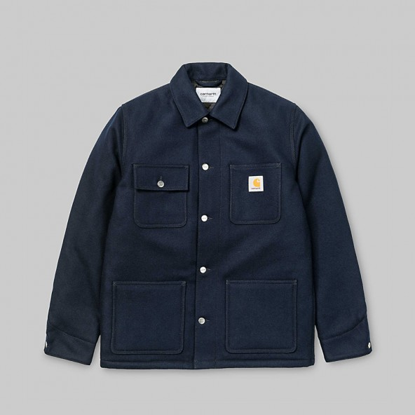 Carhartt WIP Michigan Chore Coat Dark Navy-01