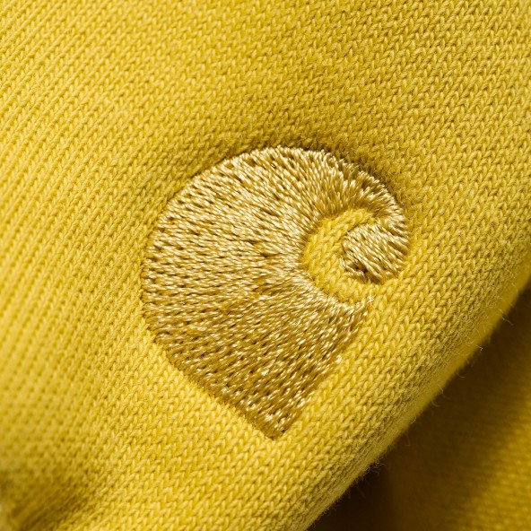 Carhartt WIP Hooded Chase Sweat Quince / Gold-01