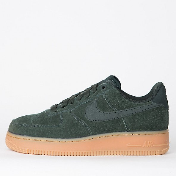 Nike Wmns Air Force 1 07 SE Outdoor Green / Outdoor Green-01