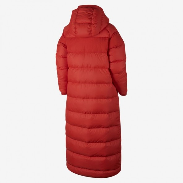 Nike Wmns Down Fill Parka Long Red-01