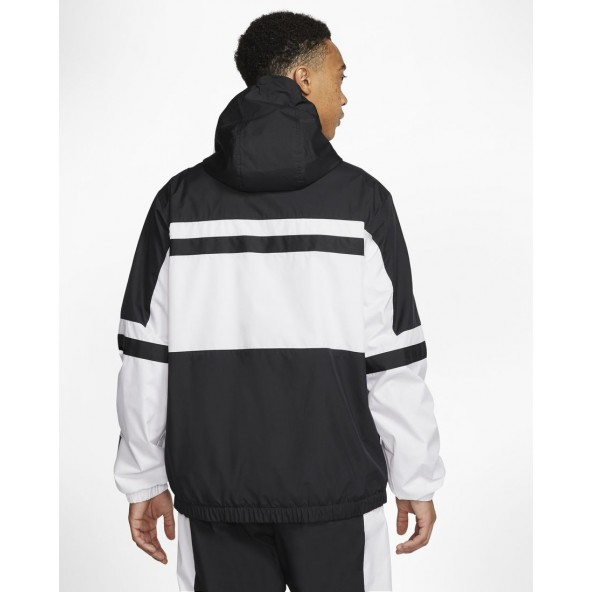Nike Sportswear Air Woven Jacket White / Black-01