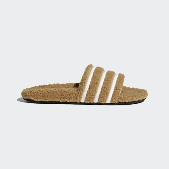 Adidas Adilette W Mesa / Chalk White / Core Black-01