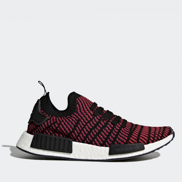 Adidas NMD_R1 STLT Primeknit Red / Core Black / Red / Blue-01