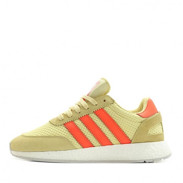 Adidas I-5923 Runner Boost Clear Yellow / Solar Red / Grey One-01