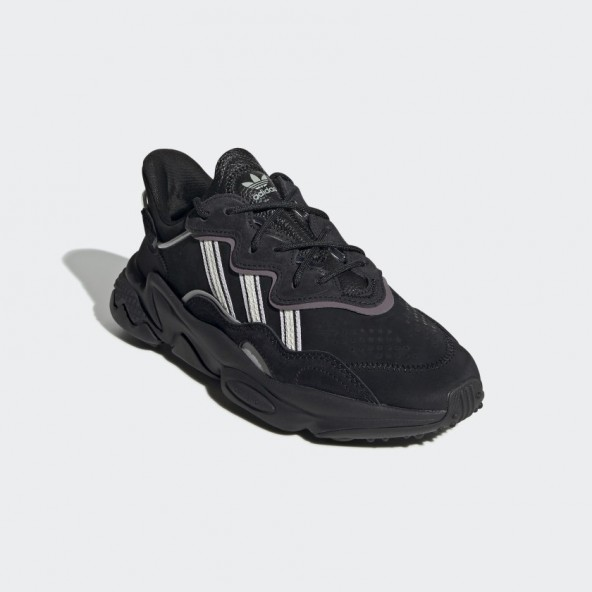 Adidas Ozweego W Core Black / Off White / Legacy Purple-01