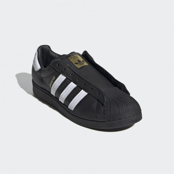 Adidas Superstar Laceless Core Black / Cloud White / Core Black-01