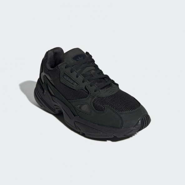 Adidas Falcon W Core Black / Core Black / Grey Five-01