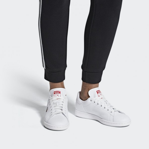 Adidas Stan Smith W Ftwr White / Active Red / Ftwr White-01