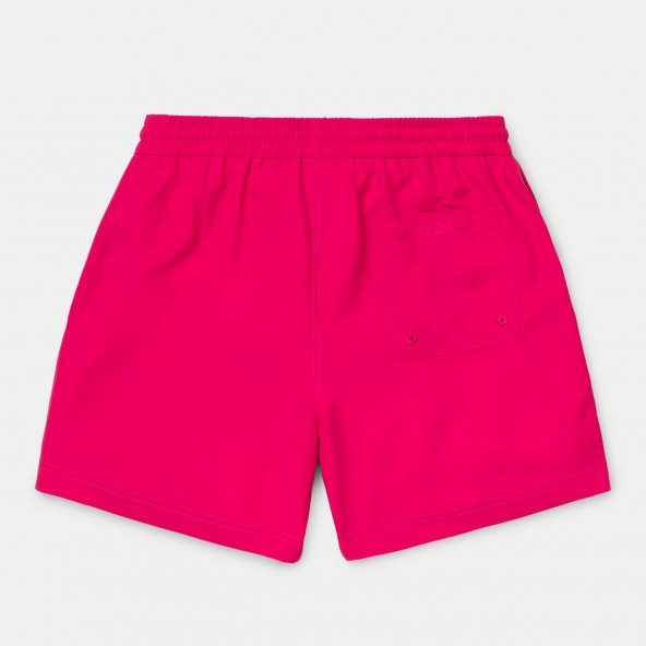 Carhartt WIP Chase Swim Trunk Ruby Pink / Gold-01