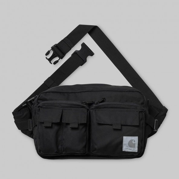 Carhartt WIP Elmwood Hip Bag Black-01
