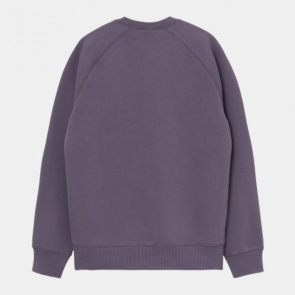 Carhartt WIP Chase Sweat Provence / Gold-01