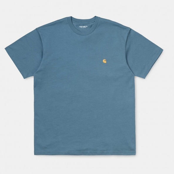 Carhartt WIP S/S Chase T-Shirt Mossa / Gold-01