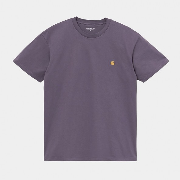 Carhartt WIP S/S Chase T-Shirt Provence / Gold-01
