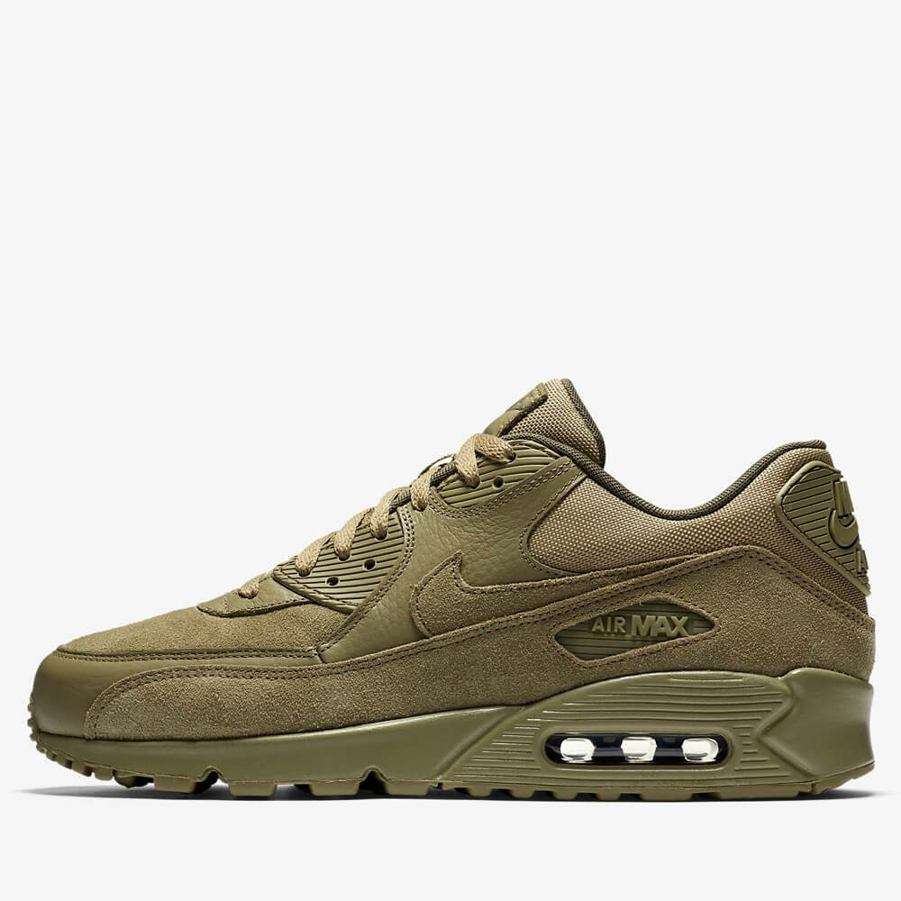 Nike Unisex's Running Shoes Air Max 1 Premium Jade Stone/ Pearl Grey - Olive Green