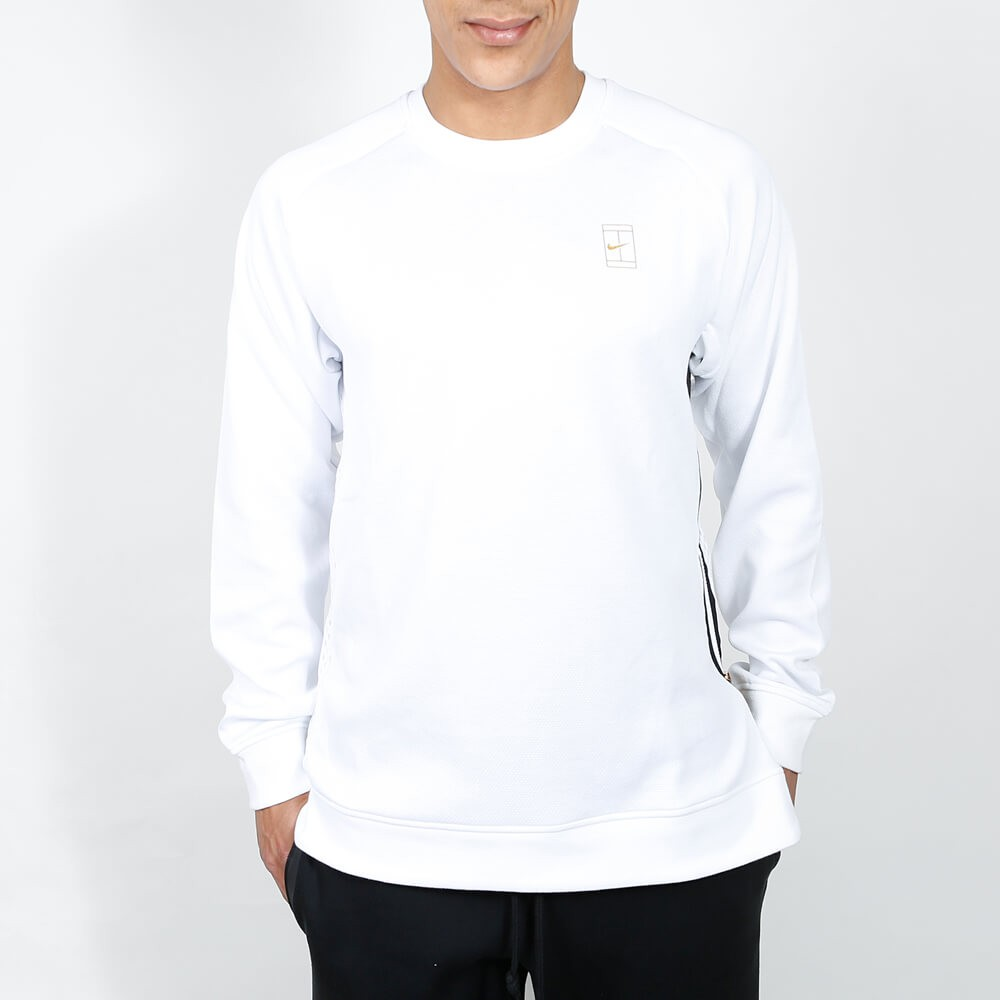 57bfdfda76 White And Gold Nike Sweatshirt - Cotswold Hire