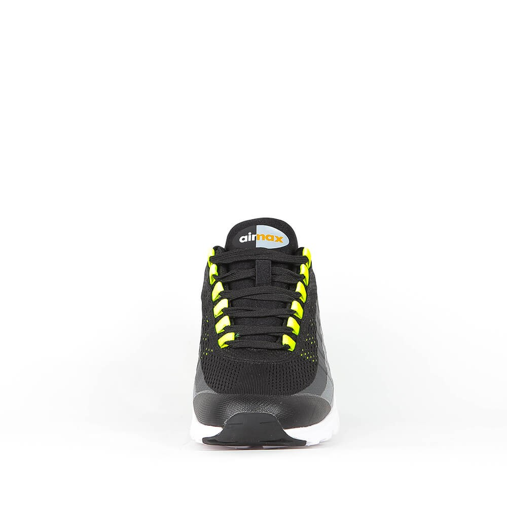 outlet store 8409a 475f6 Nike Wmns Air Max 95 Ultra - Black   Volt Anthracite Dark Grey