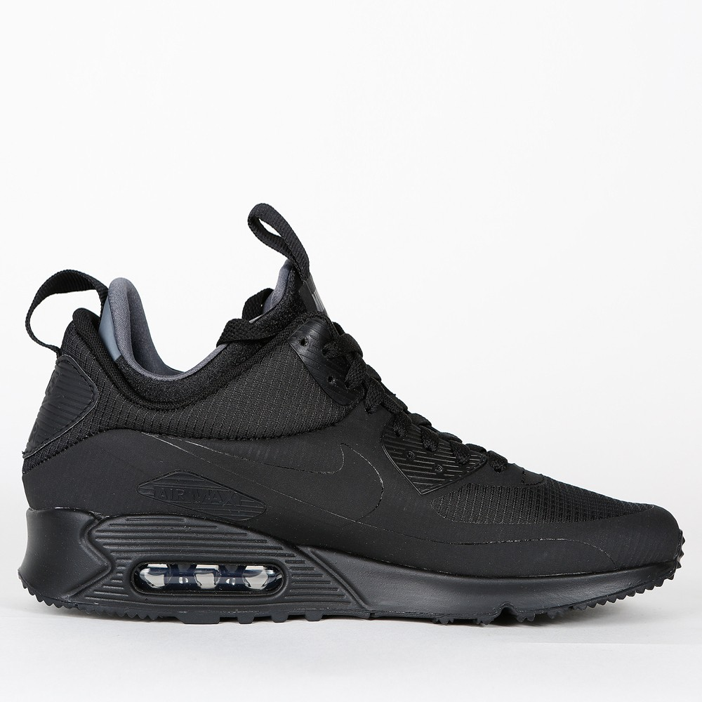 Nike Air Max 90 Mid Winter Black Black 806808 002