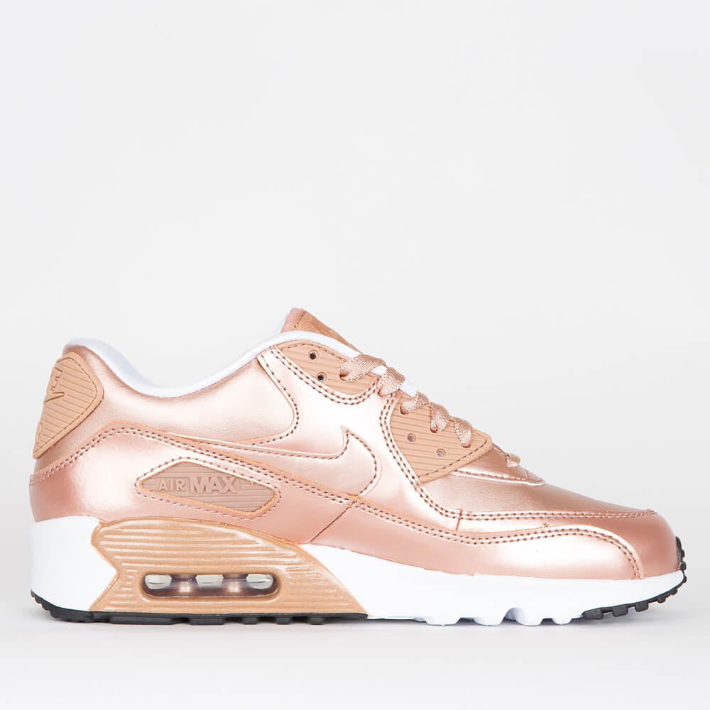 """Nike Air Max 90 SE Leather GS """"Bronze Pack"""" - Metallic Red Bronze    Metallic Red Bronze 67cacc489"""