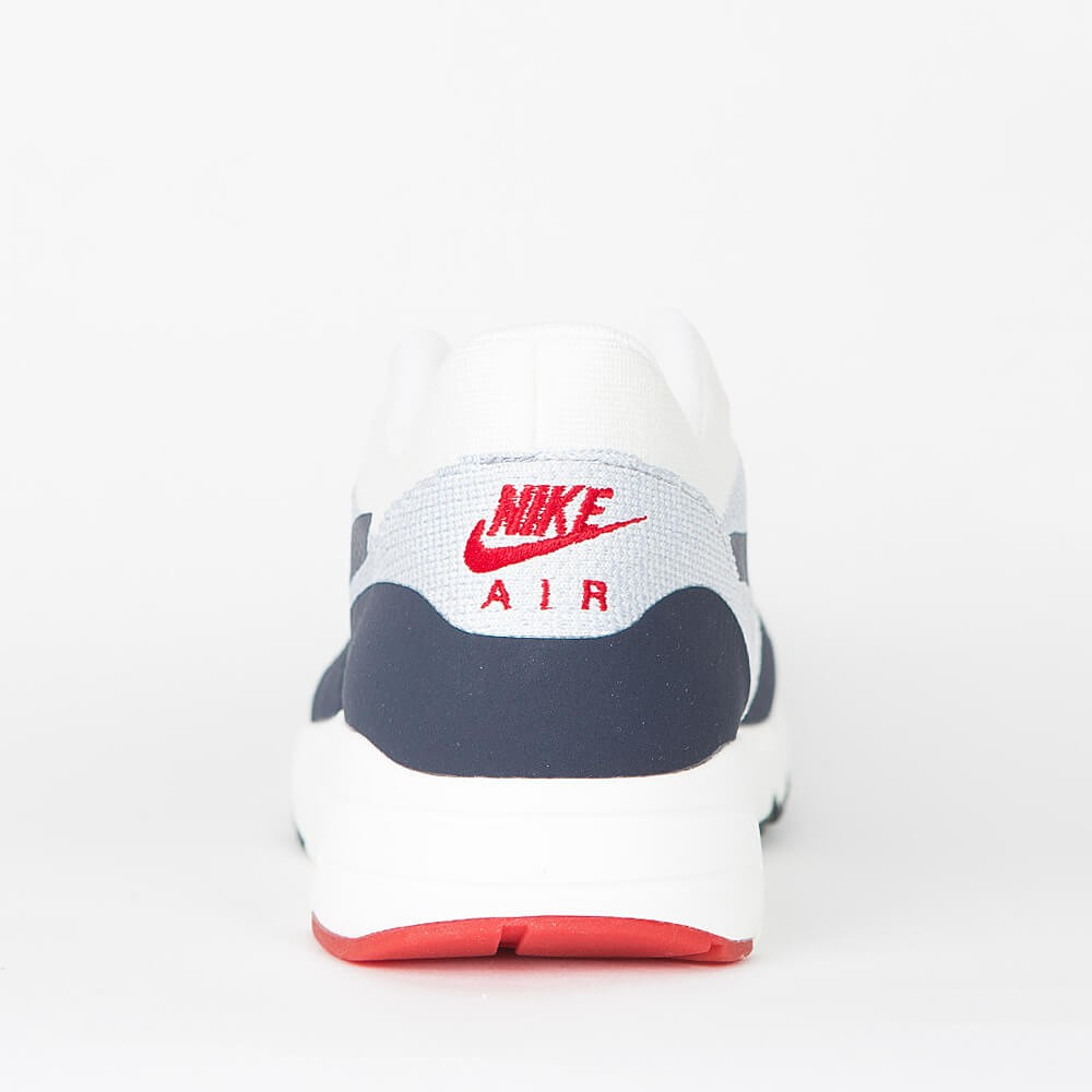 premium selection ef367 4b2a5 Nike Air Max 1 Ultra 2.0 Flyknit - Sail   Obsidian - Wolf Grey - University  Red
